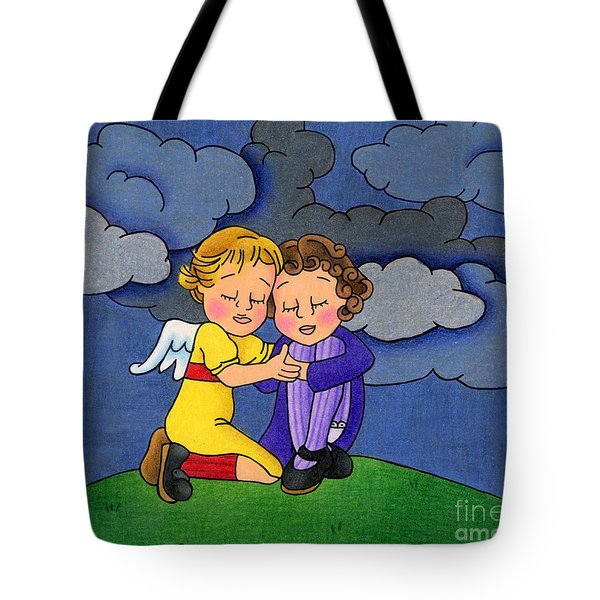 Facing It Together Tote Bag