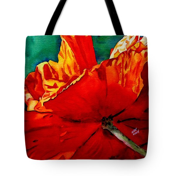 Facing The Light Tote Bag