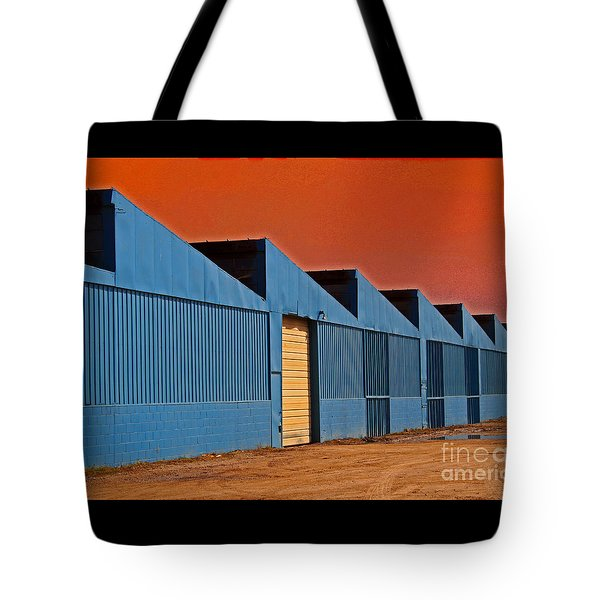 Factory Building Tote Bag