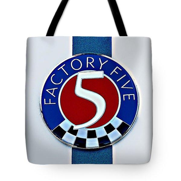 Factory Five Tote Bag