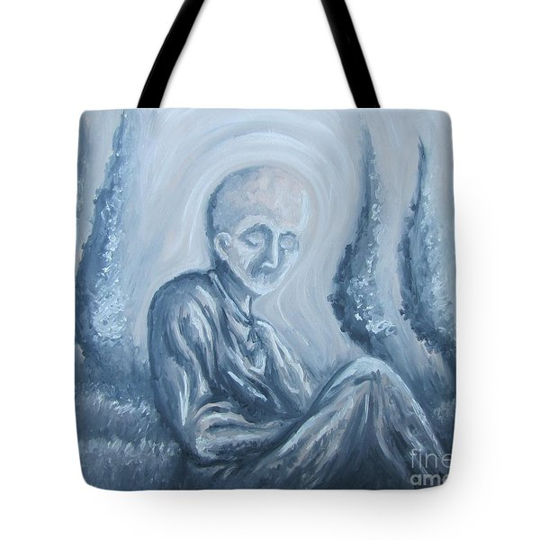 Tote Bag featuring the painting Fade Away by Michael  TMAD Finney