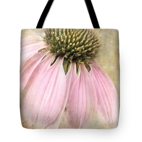 Faded Coneflower Tote Bag