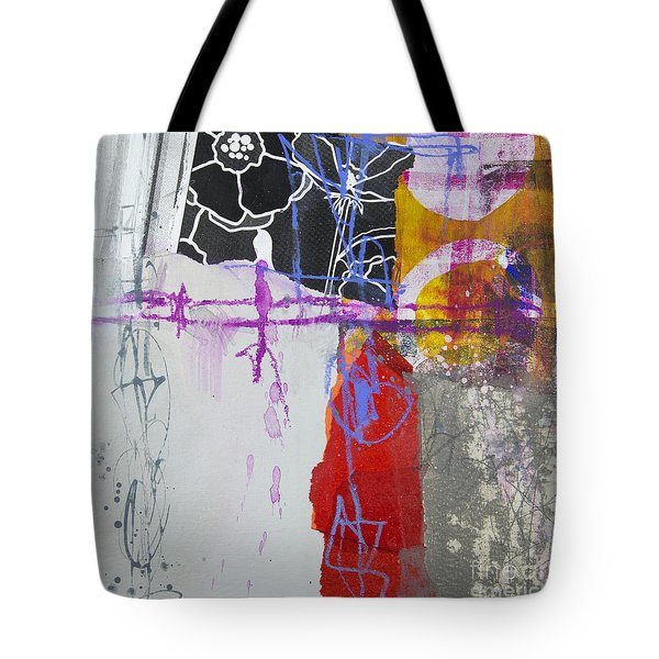 Faded Flower Tote Bag