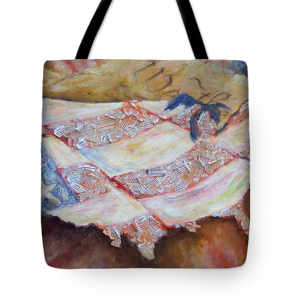 Faded Glory Tote Bag by Deborah Smith