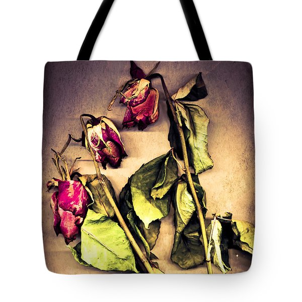 Faded Glory Tote Bag by Jan Bickerton