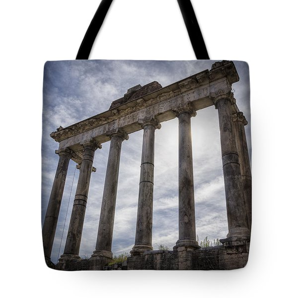 Faded Glory Of Rome Tote Bag by Joan Carroll