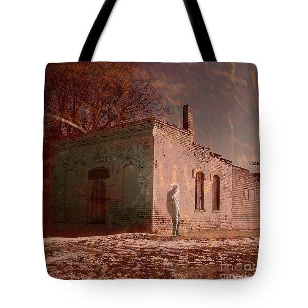 Faded Memories Tote Bag by Desiree Paquette