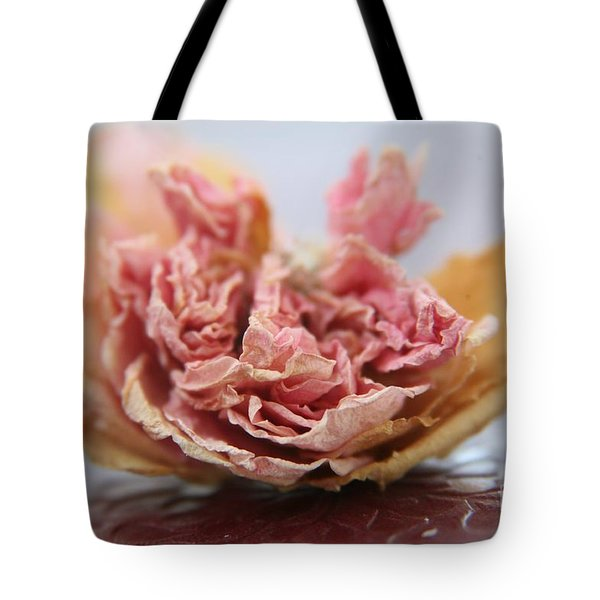 Faded Rose Iv Tote Bag