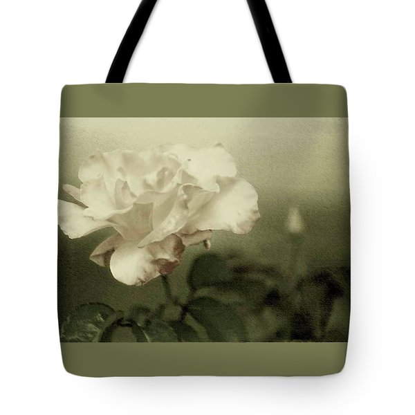 Tote Bag featuring the photograph Faded Rose by Mary Wolf