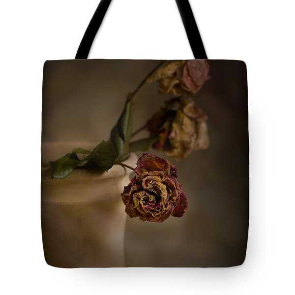 Fading Away Tote Bag by Trevor Chriss