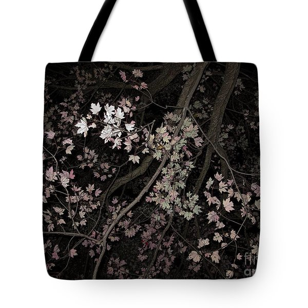 Fading Fall Tote Bag by Ann Horn