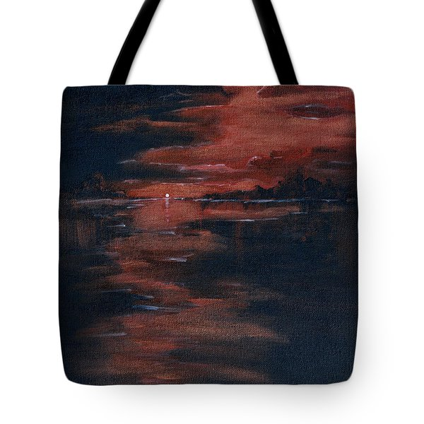 Fading Light Tote Bag by Donna Blackhall