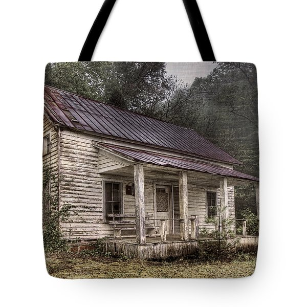 Fading Memories Tote Bag by Debra and Dave Vanderlaan