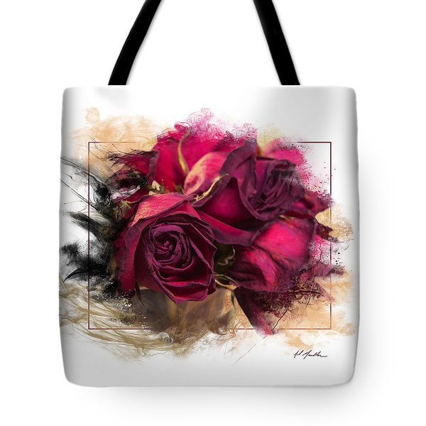 Fading Roses Tote Bag