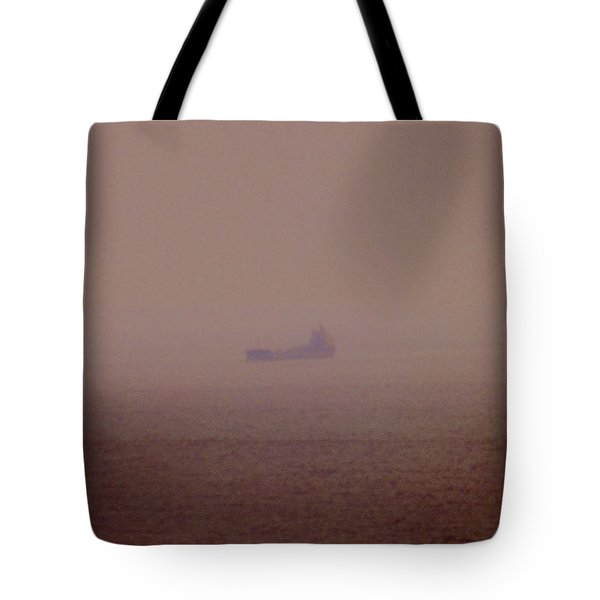 Fading Spector Of The Straits Tote Bag