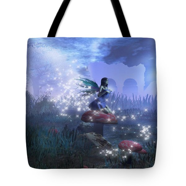 Faerie Tote Bag by David Mckinney