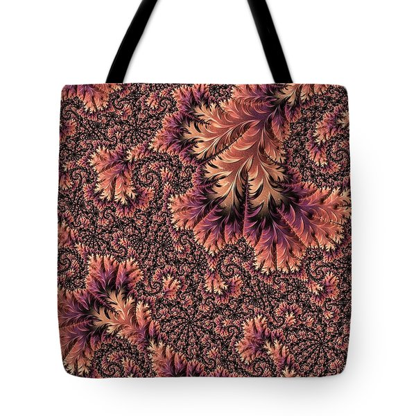 Tote Bag featuring the digital art Faerie Forest Floor Ill by Susan Maxwell Schmidt