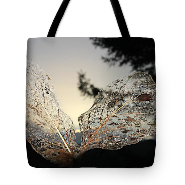 Tote Bag featuring the photograph Faerie Wings by Katie Wing Vigil