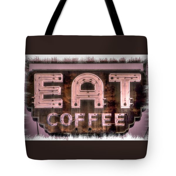 Fair Warning Or To The Point - Maryland Country Roads - Some Things Just Don't Go Together No. 2 Tote Bag