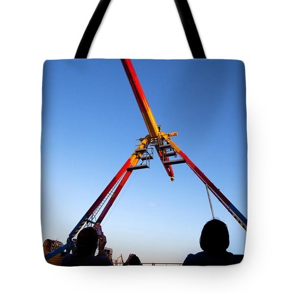 Fairground Ride , Tramore, County Tote Bag