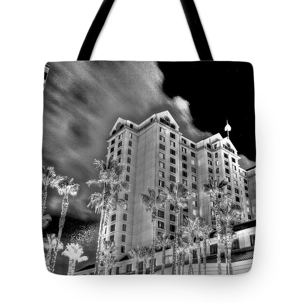 Fairmont From Plaza De Cesar Chavez Tote Bag
