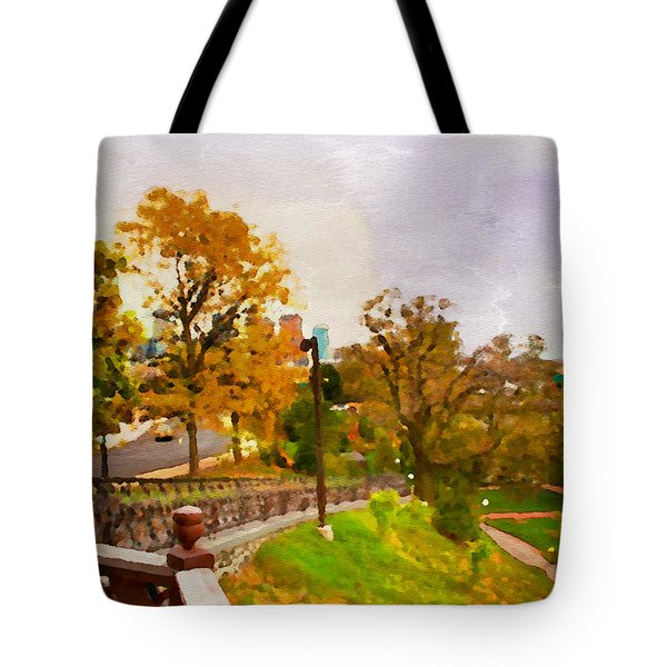 Fairmount View Tote Bag by Alice Gipson