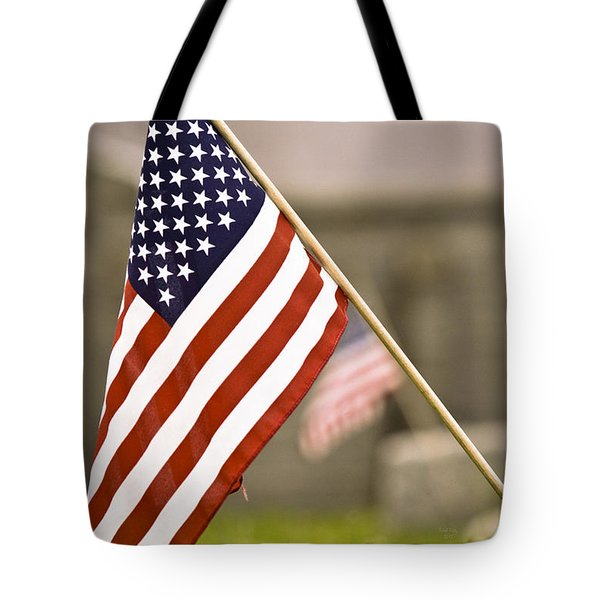 Fairview America Tote Bag by Trish Tritz