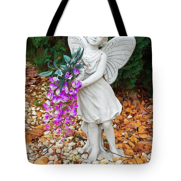 Fairy Tote Bag by Aimee L Maher Photography and Art Visit ALMGallerydotcom