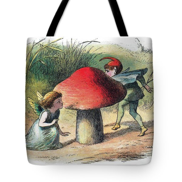 Fairy And Elf-legendary Creatures Tote Bag by Photo Researchers