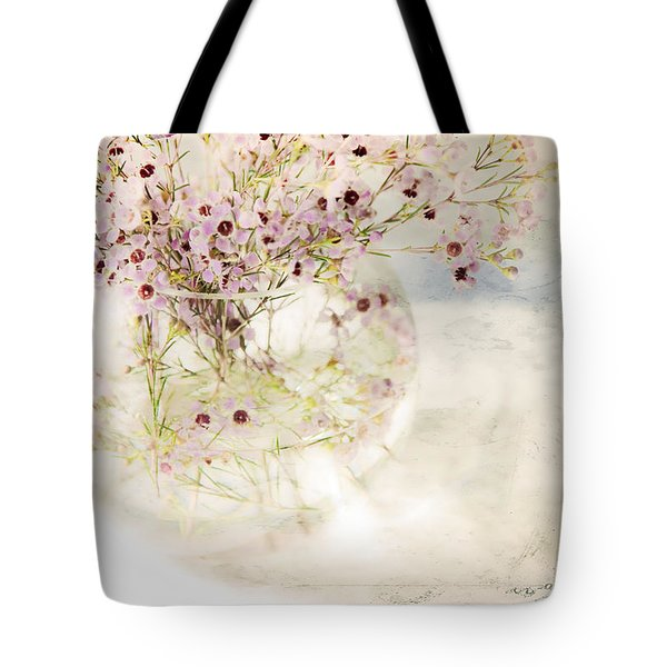 Fairy Bouquet Tote Bag by Theresa Tahara