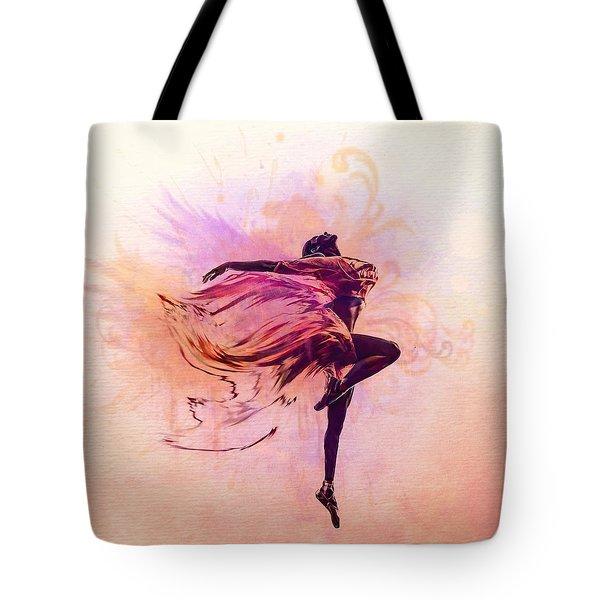 Fairy Dance Tote Bag