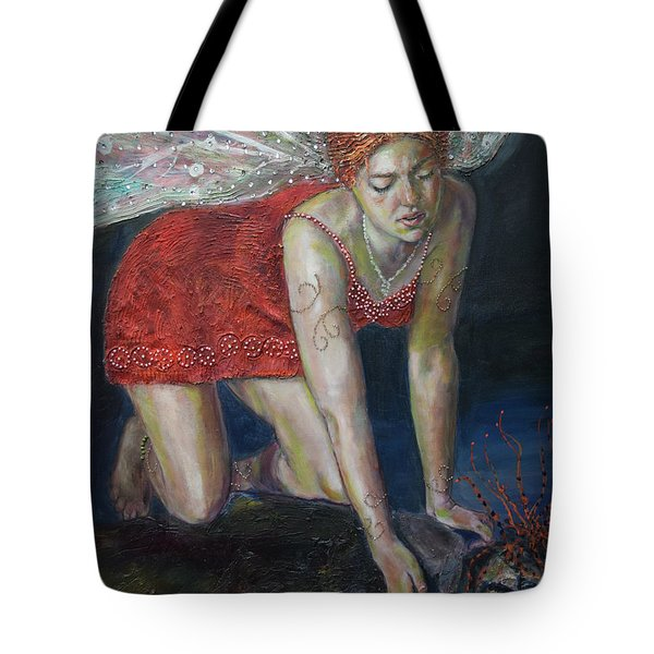 Fairy Faces Bugaboo Tote Bag