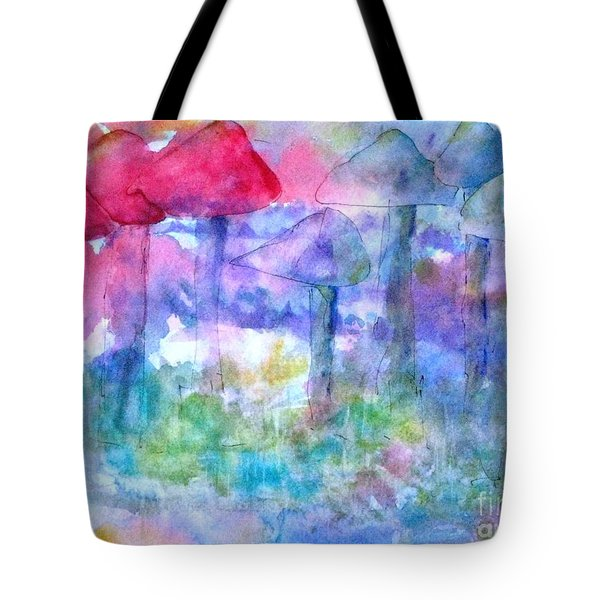 Fairy Garden Tote Bag