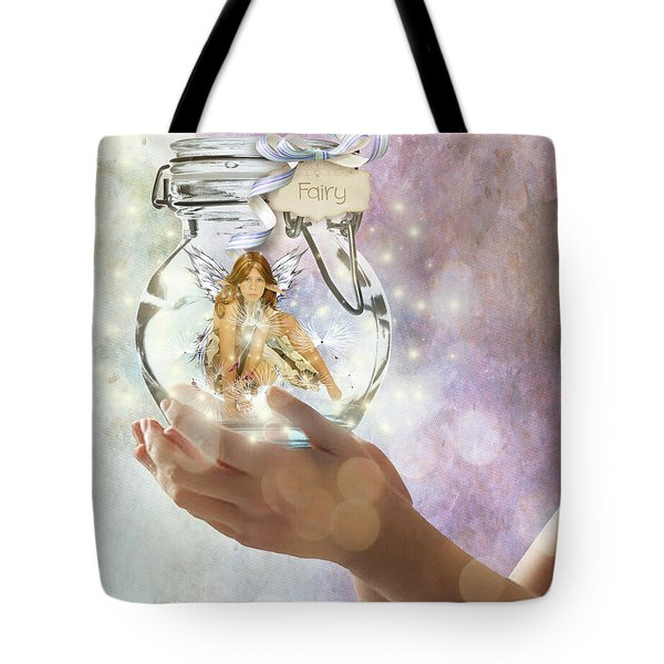 Fairy Tote Bag by Juli Scalzi
