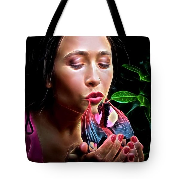 Fairy Kiss Tote Bag