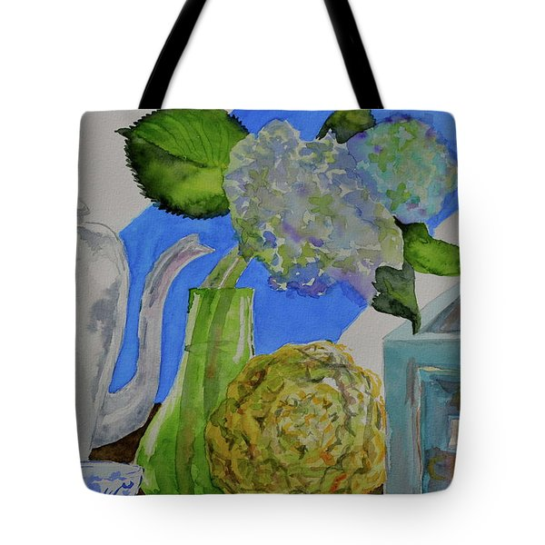Tote Bag featuring the painting Fairy Soda Fine Crackers by Beverley Harper Tinsley