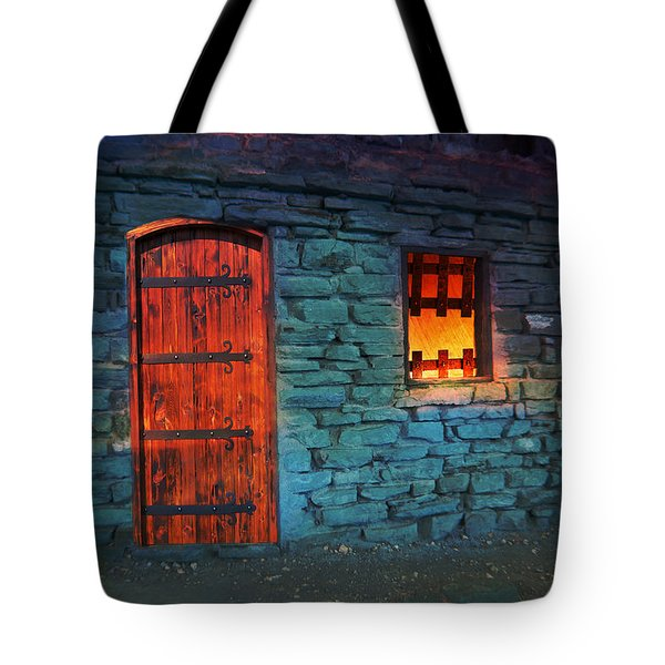 Fairy Tale Cabin Tote Bag