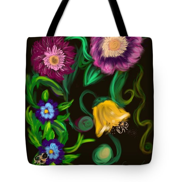 Fairy Tale Flowers Tote Bag