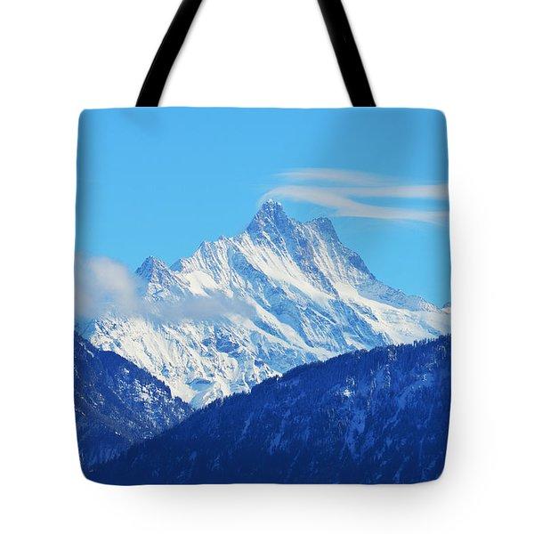 Fairy Tale In Alps Tote Bag by Felicia Tica