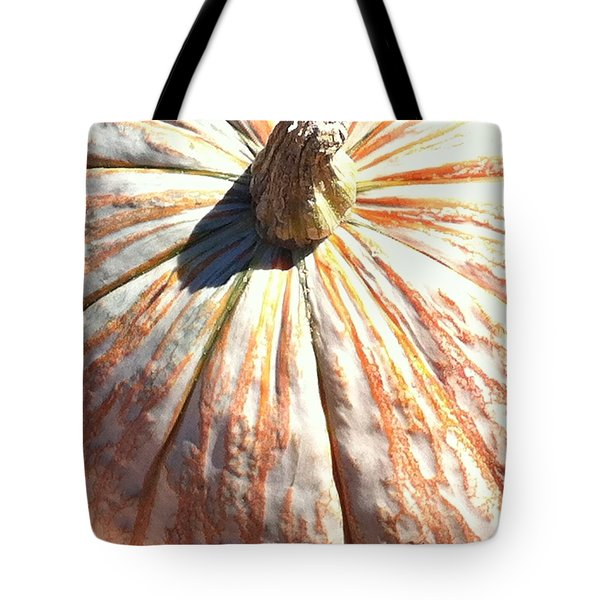 Tote Bag featuring the photograph Fairy Tale Pumpkin by Denyse Duhaime