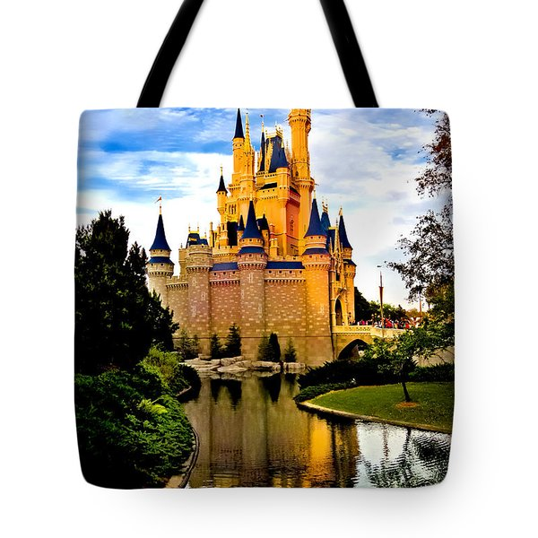 Fairy Tale Twilight Tote Bag by Greg Fortier
