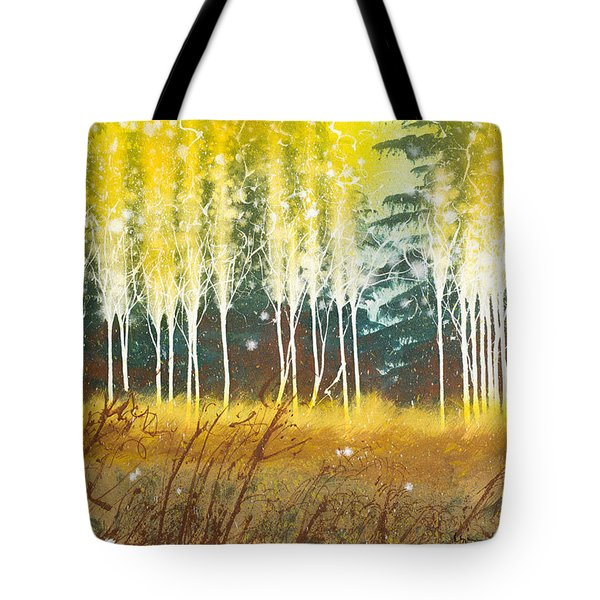 Fairy Trees Tote Bag