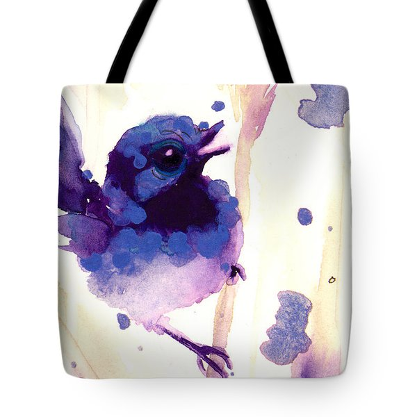 Fairy-wren Tote Bag by Dawn Derman