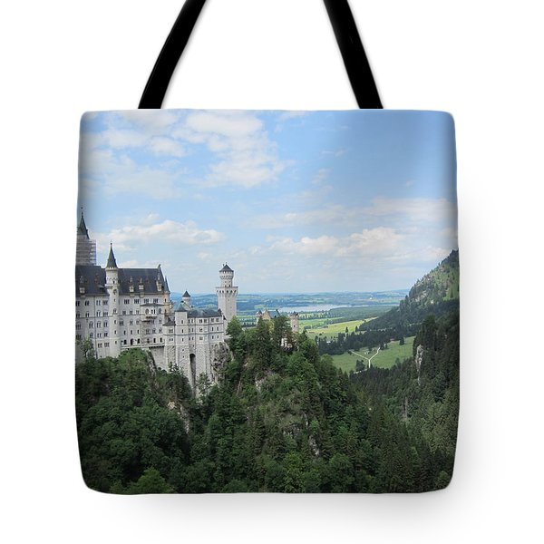 Fairytale Castle - 1 Tote Bag by Pema Hou