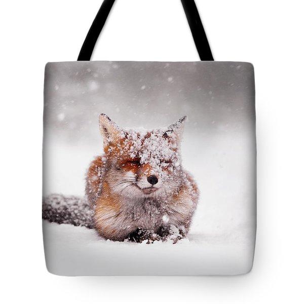 Fairytale Fox II Tote Bag by Roeselien Raimond