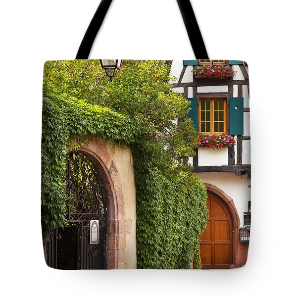 Fairytale Village Tote Bag by Brian Jannsen