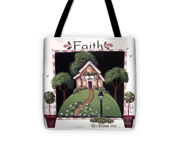 Faith Tote Bag by Catherine Holman