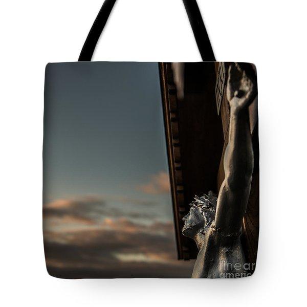 Faith Tote Bag by Hannes Cmarits