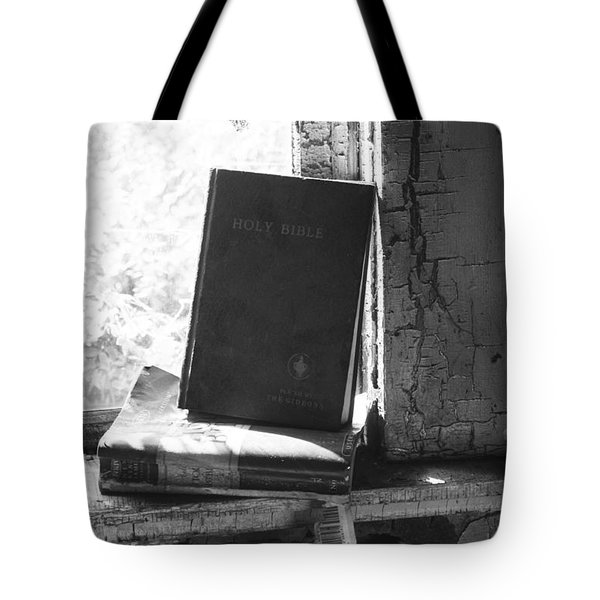 Faith In Sight  Tote Bag by Jerry Cordeiro