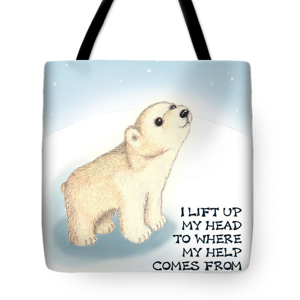 Faith Tote Bag by Jerry Ruffin